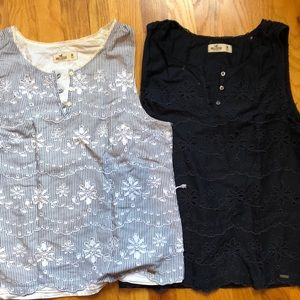 2 Hollister Shirts Size Ms